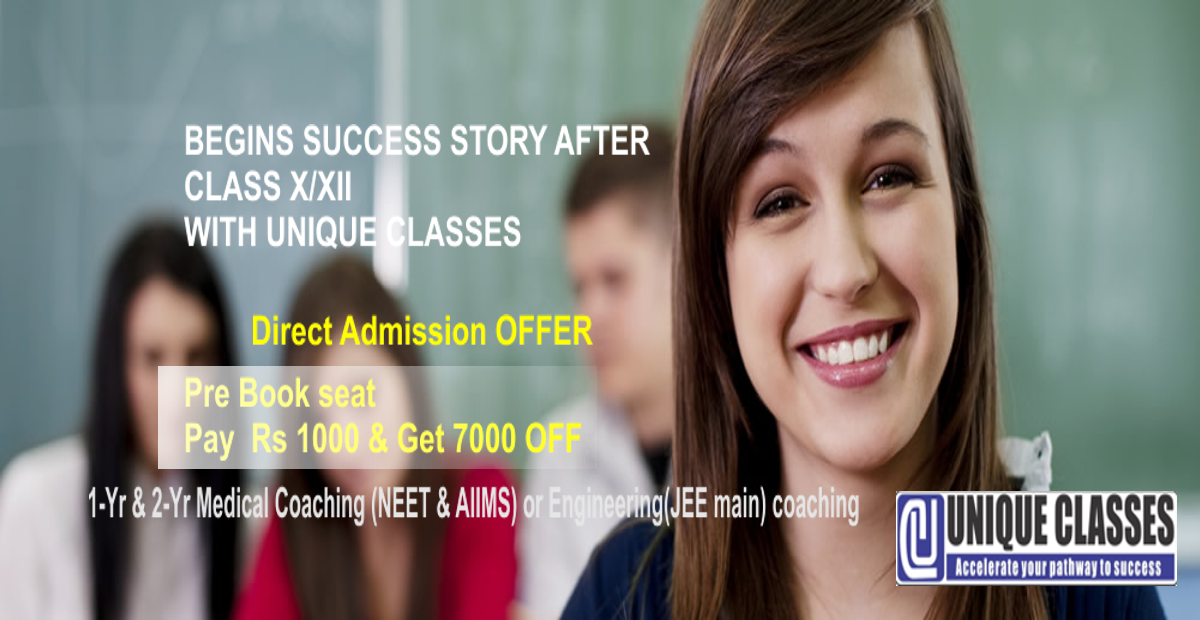 NEET|JEE coaching at UNIQUECLASSES