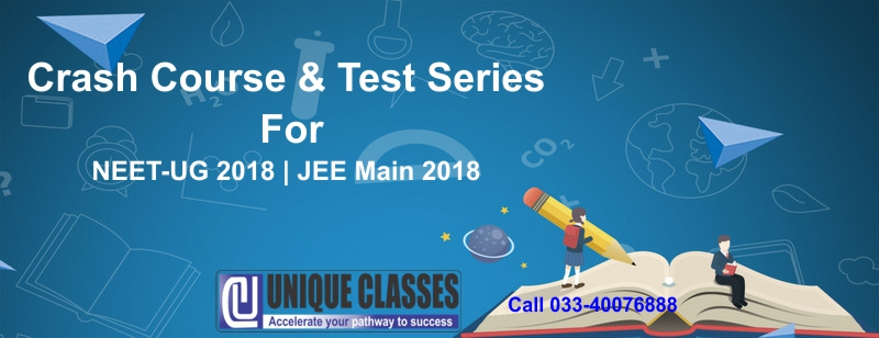 Crash course for NEET UG 2018 at UNIQUECLASSES